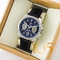 Часы Tag Heuer Carrera 17 Rose silver black