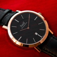 Часы Piaget Altiplano gold black