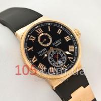 Часы Ulysse Nardin Maxi Marine gold black