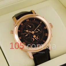 Часы Patek Philippe Geneve gold black