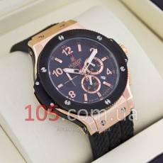 Часы Hublot gold black