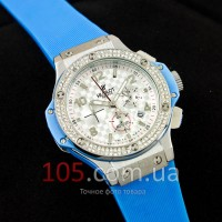 Часы Hublot Geneva Woman light blue