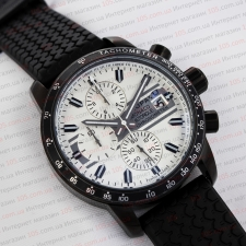 Часы L.U.Chopard Monaco Historique chronometer black white
