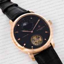 Механичесие часы Vacheron Constantin Tourbillon gold black