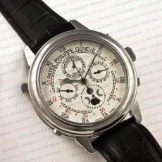 Часы Patek Philippe sky moon silver