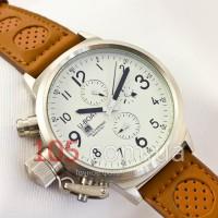 Часы U-Boat Flightdeck silver white