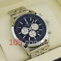 Часы Breitling silver black