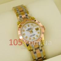 Механические часы Rolex gold white