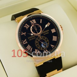 Часы Ulysse Nardin gold black (02355-2)