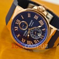 Часы Ulysse Nardin Maxi Marine gold blue