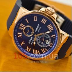 Часы Ulysse Nardin Maxi Marine gold blue (3110)