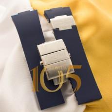 Ремешок с застежкой Ulysse Nardin ААА silver blue 26x20мм